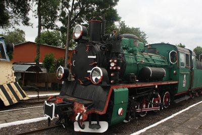 historische Kleinbahn zwischen Rewal und Trczensac