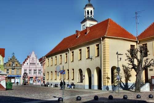 Marktplatz von Trzebiatow