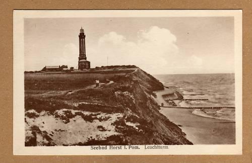 Seebad Niechorze Leuchtturm historische Ansichtskarte