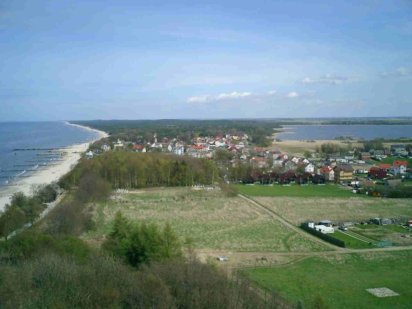 Binnensee Liwia Luzia bei Niechorze