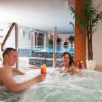 Entspannung im Whirlpool der Villa del Mar Ostsee